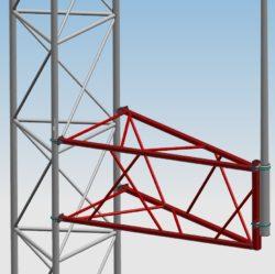 Wysięgnik serii WADM do anteny dookólnej