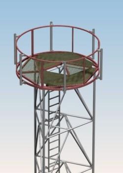 Okrągła platforma separacyjna PSRM 1000