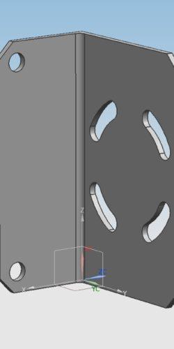 Łącznik na rurę ukośną DKDP