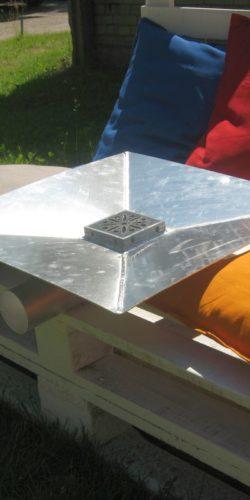 Odpływ tarasowy aluminiowy OT-1 i OT-2
