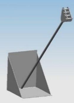 System Fundamentowania Masztu GA-1 / MB-1