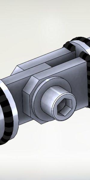 """Połączenie TYP C3 (2 balchy węzłowe – 1 blacha węzłowa) """"dźwigowe"""""""