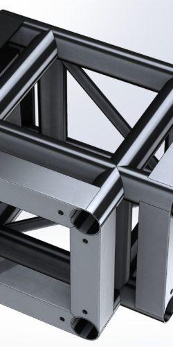 Narożnik CQS290 – 4×3 Flat do systemu QS290
