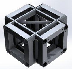 Narożnik CQS290 – 4×4 Flat do systemu QS290