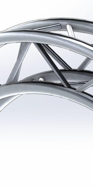 Kratownica łukowa QS150-AR65