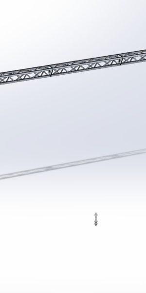 Stoisko Targowe TS290 – 5m x 10m h=3m Narożny