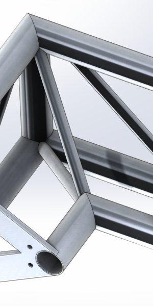 Narożnik dwukierunkowy (3×2) aluminiowy dla TS290 i TS390
