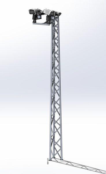 Słup monitoringowy MKZ5025-6-CCTV