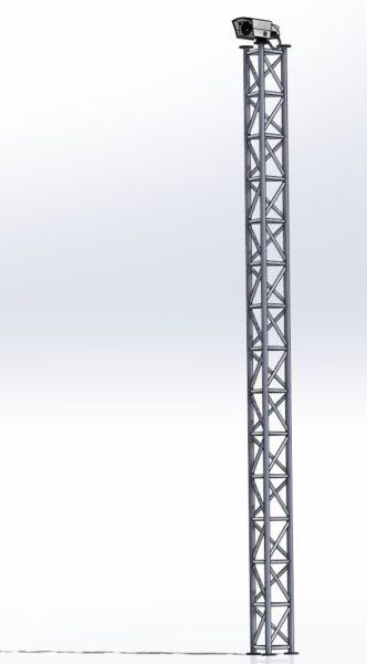 Słup CCTV M250-4