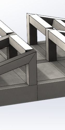 Przejazd techniczny budowlany przez rurę fi 150 prosty