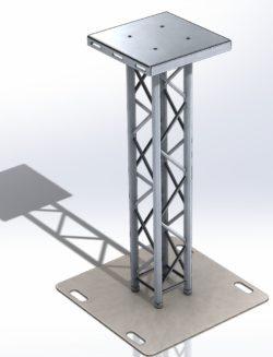 Podstawa pod głośnik PA model QS290-175-PA-STAND