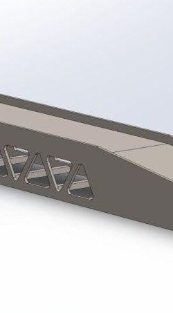 Najazd TIR wyrównujący (przyrampowy) dla naczep standardowych 6 kołowych h=250 mm