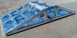 Przejazd techniczny budowlany przez rurę fi 150 łączony