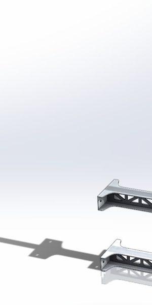 Maszt Przyścienny Rurowy WP200-500A