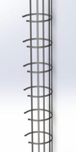 Kosz przeciwupadkowy systemu SYDRA500