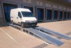 Najazd dla samochodów dostawczych ND8S