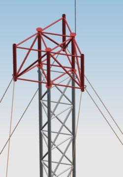 Korona separacyjna serii KM dla anten sektorowych