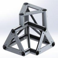 Narożnik trójkierunkowy (3×3) aluminiowy dla TS290 i TS390