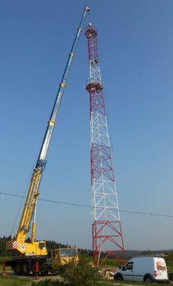 Wieża stalowa T2000-45