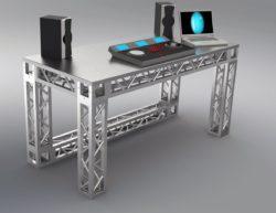 Stół DJ kratownicowy PRO QST150